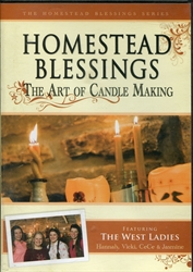 Homestead Blessings: Art of Candle Making DVD