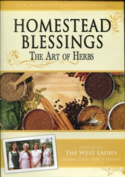 Homestead Blessings: Art of Herbs DVD