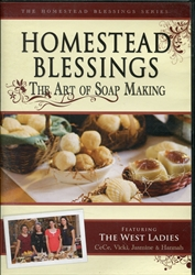 Homestead Blessings: Art of Soap Making DVD