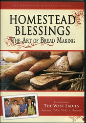 Homestead Blessings: Art of Bread Making DVD