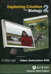 Exploring Creation With Biology - Video Instruction DVD