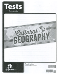 Cultural Geography - Tests