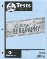 Cultural Geography - Tests Answer Key