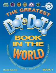 Greatest Dot-to-Dot Book in the World Book 1