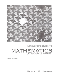 Mathematics: A Human Endeavor - Instructor Guide