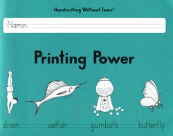 Handwriting Without Tears: Printing Power