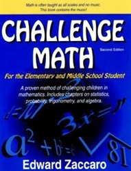 Challenge Math For the Elementary and Middle School Students