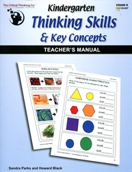 Kindergarten Thinking Skills & Key Concepts - Teacher's Manual