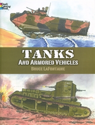 Tanks and Armored Vehicles - Coloring Book