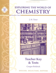 Exploring the World of Chemistry - Teacher Key & Tests