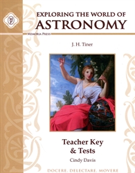 Exploring the World of Astronomy - Teacher Key & Tests
