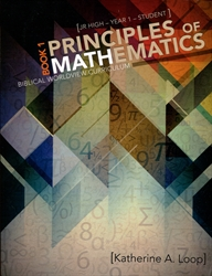Principles of Mathematics Book 1 - Student Text