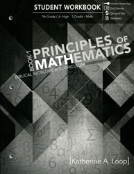 Principles of Mathematics Book 1 - Student Workbook