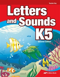 Letters and Sounds K5 - Teacher Key