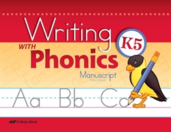 Writing With Phonics K5 - Manuscript
