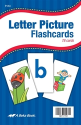 Letter Picture Flashcards - K5