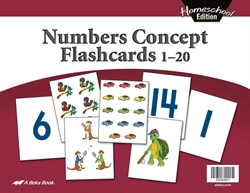 Homeschool Number Concepts Flashcards