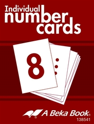 Individual Number Cards