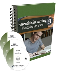 Essentials in Writing Level 9 - Combo Pack