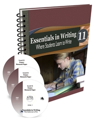 Essentials in Writing Level 11 - Combo Pack