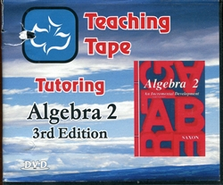 Teaching Tape Tutoring: Algebra 2