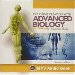 Exploring Creation with Advanced Biology - MP3 CD