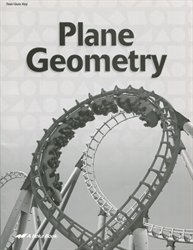 Plane Geometry - Test/Quiz Key