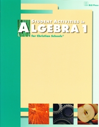 Algebra 1 - Student Activities (old)