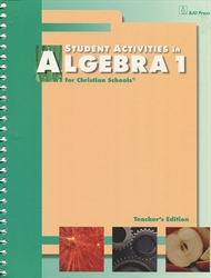 Algebra 1 - Student Activities Teacher Edition (old)