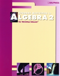 Algebra 2 - Student Activities (old)