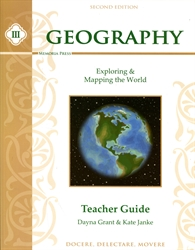 Memoria Press Geography III - Teacher Guide