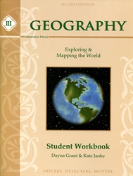 Memoria Press Geography III - Workbook