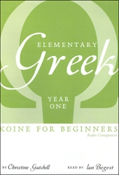 Elementary Greek Year One - Audio Companion CD