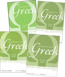Elementary Greek Year One - Bundle