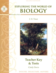 Exploring the World of Biology - Teacher Key and Tests