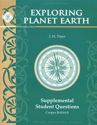 Exploring Planet Earth - Supplemental Student Questions