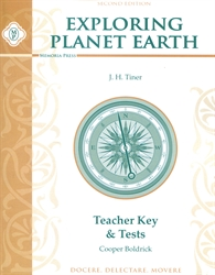 Exploring Planet Earth - Teacher Key and Tests