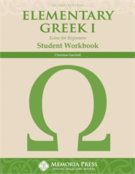 Elementary Greek Year One - Workbook