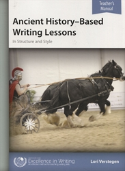 Ancient History-Based Writing Lessons - Teacher Book