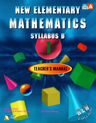 New Elementary Mathematics 1 - Teacher Manual