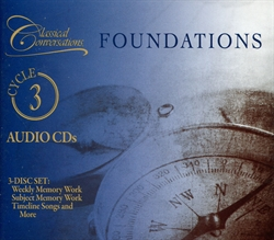 Classical Conversations Foundations Cycle 3 - Audio CDs