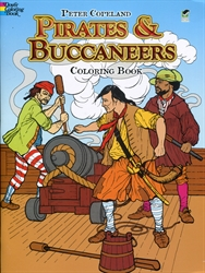 Pirates and Buccaneers - Coloring Book