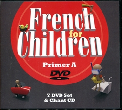 French for Children Primer A - DVDs