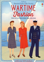 Sticker Dolly Dressing: Wartime Fashions