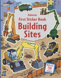 Building Site Sticker Book