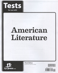 American Literature - Tests