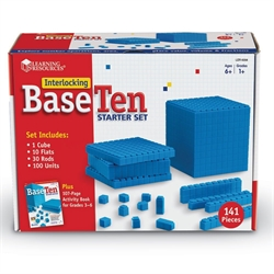 Base Ten Starter Set - Interlocking