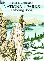 National Parks - Coloring Book