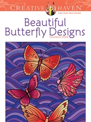 Creative Haven Beautiful Butterfly Designs - Coloring Book