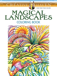 Creative Haven Magical Landscapes - Coloring Book